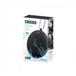 Φορητό Ηχείο Bluetooth 5W Waterproff IPX5 Cross Μαύρο PMG14B